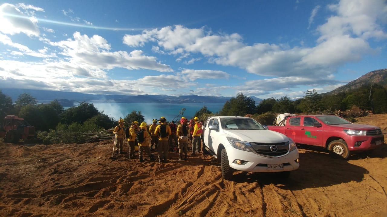 Se declara Alerta Temprana Preventiva para las provincias de Coyhaique, Aysén y General Carrera por amenaza de incendios forestales