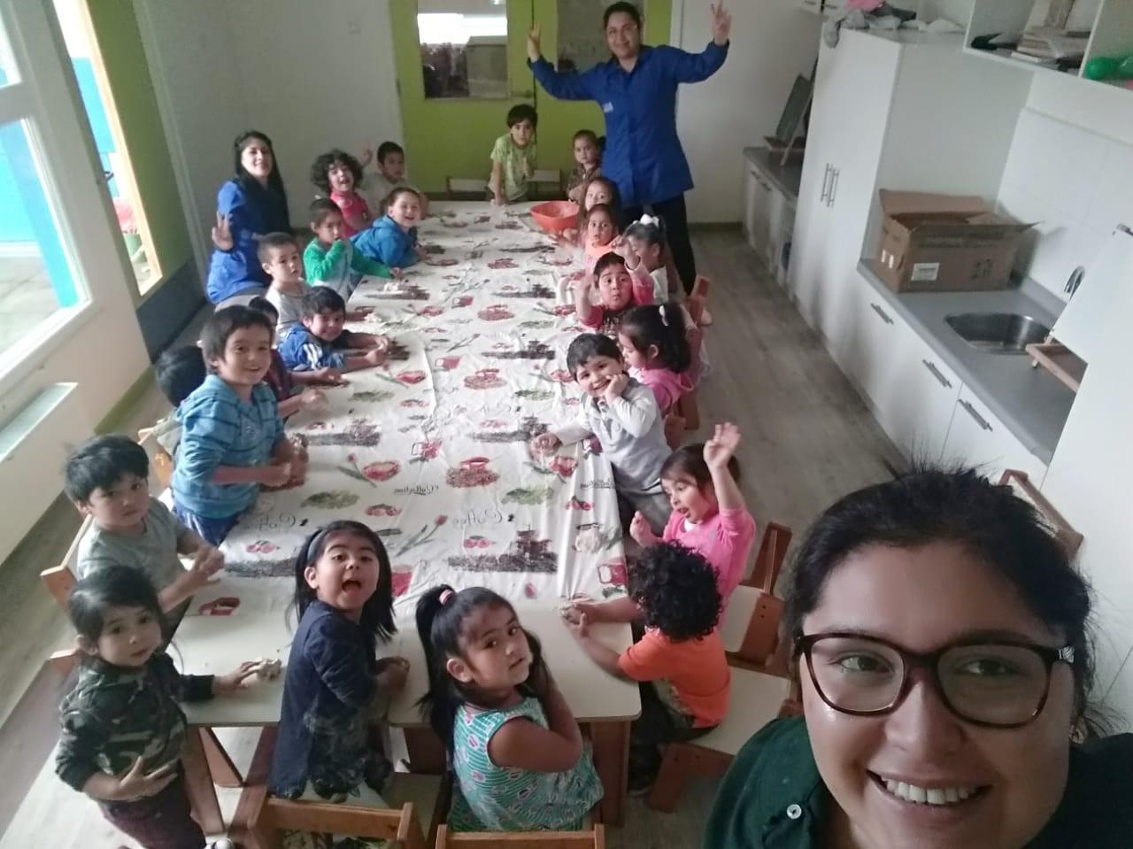 """Con Fiesta de la Interculturalidad """"Jardín de Verano"""" de la JUNJI se despide de las familias"""